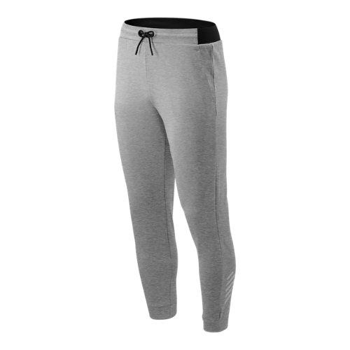 New Balance Hombre Tenacity Fleece Pant - Grey, Grey