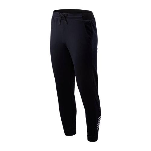 New Balance Hombre Tenacity Fleece Pant - Black, Black