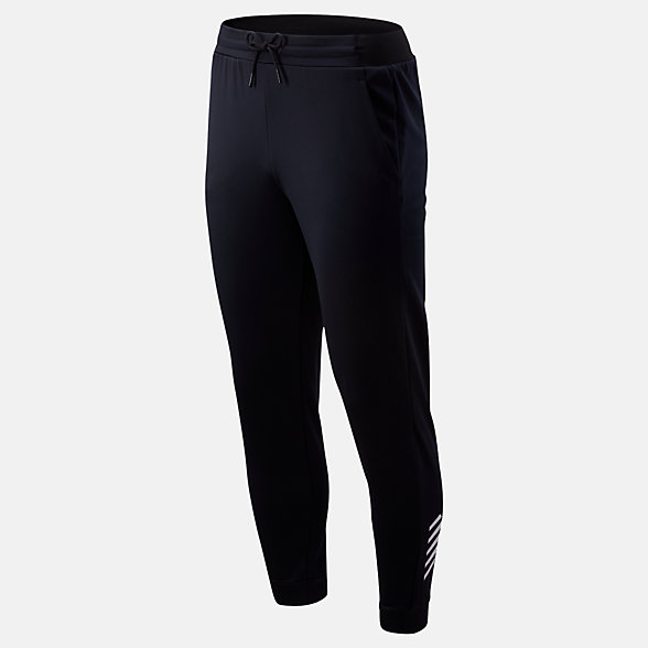 New Balance Pantalon en molleton Tenacity, MP93022BK