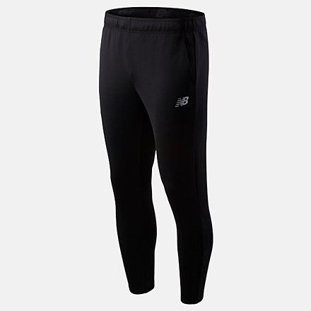 New Balance Tenacity Knit Pant, MP93091BK image number null