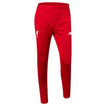 New Balance Liverpool FC On-Pitch Slim Pant, Team Red with White