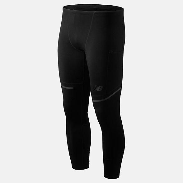 New Balance 男款运动紧身长裤, MP93246BK