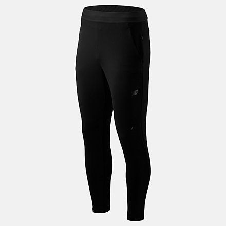 New Balance Q Speed Crew Run Pant, MP93255BK image number null