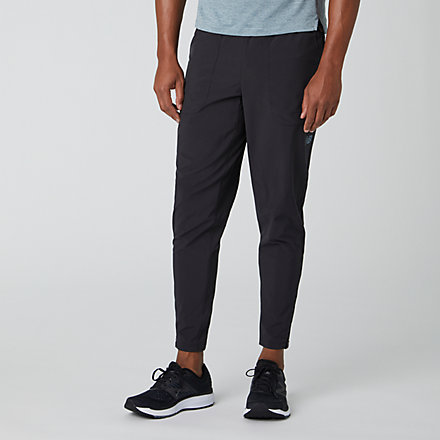 New Balance Q Speed Crew Track Pant, MP93258BK image number null