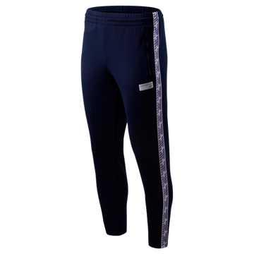 New Balance NB Athletics Classic Track Pant, Pigment with Prism Purple