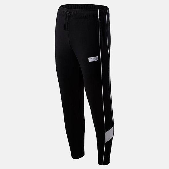 New Balance Pantalon d'entraînement classique NB Athletics, MP93504BK