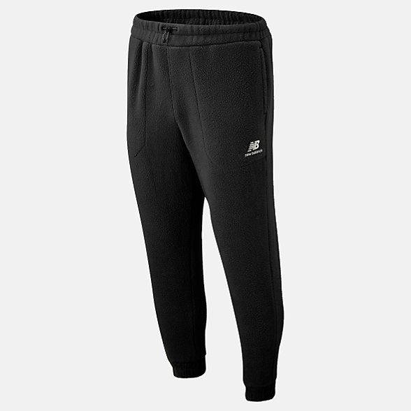 New Balance Pantalon de jogging Sherpa NB Athletics Trail, MP93695BK