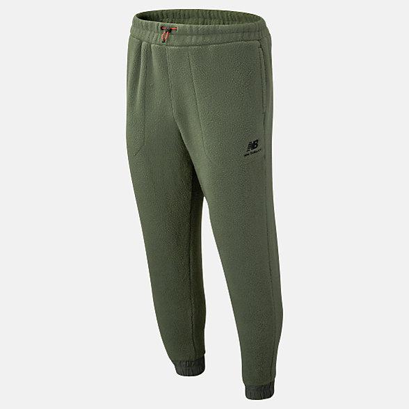 New Balance Pantalon de jogging Sherpa NB Athletics Trail, MP93695SLG