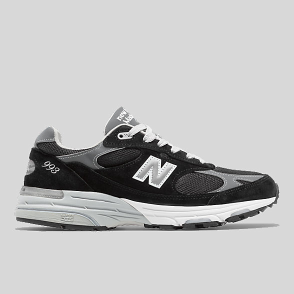 New Balance Mens Made in US 993, MR993BK