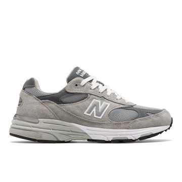 New Balance Made in US 993, Grey with White