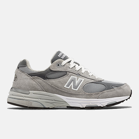 New Balance Mens Made in US 993, MR993GL
