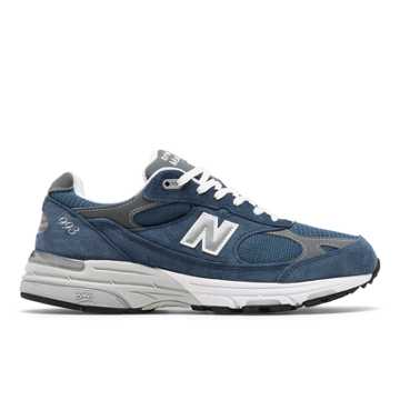 New Balance Made in US 993, Vintage Indigo with Grey