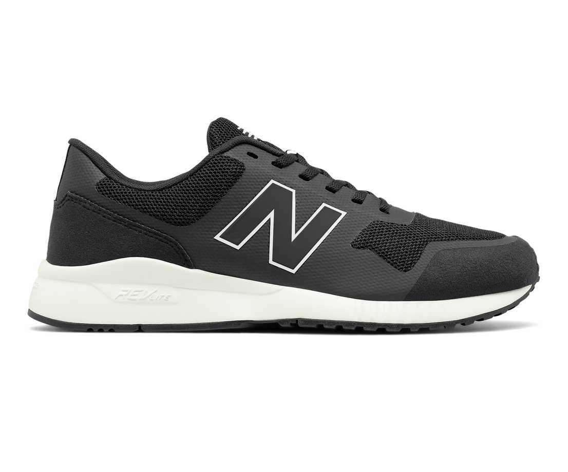NB 005 Modern Classics, Black with Black Caviar & White