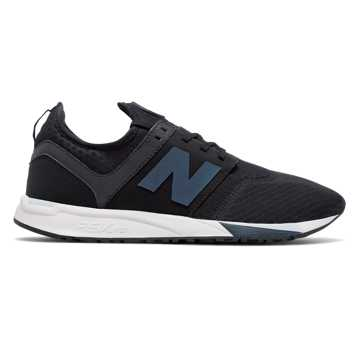 New Balance 247 Sport, Black with Spearmint