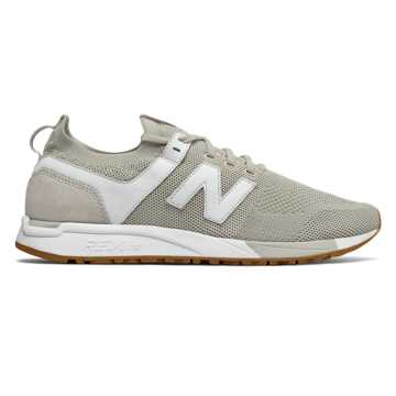 New Balance 247 Engineered Mesh, Moonbeam with White