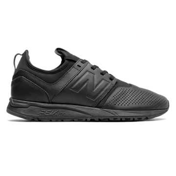 New Balance 247 Leather, Black