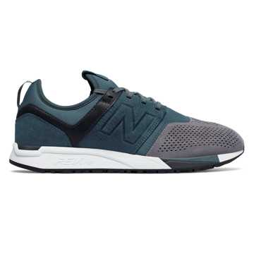 New Balance 247 Luxe, Orion Blue with Grey