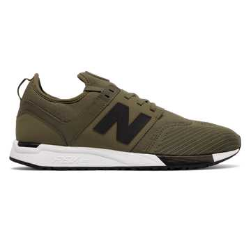 New Balance 247 Sport, Olive with Black