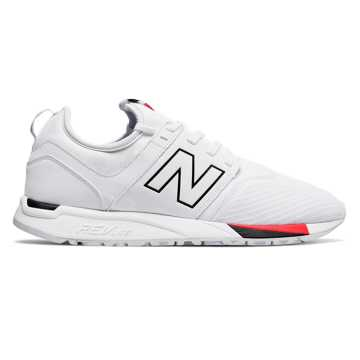 New Balance 247 Classic, White with Black