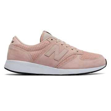 New Balance 420复古鞋 中性款 经典复古 轻量舒适, 浅粉色