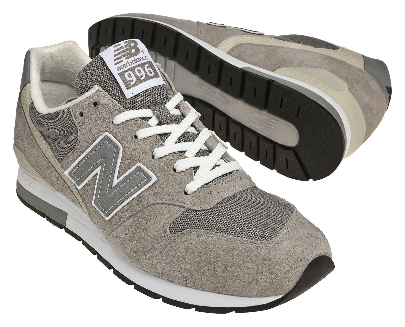 NB Revlite 996, Grey with Heather Grey \u0026 Cream