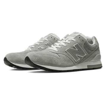 New Balance 996系列男女同款復古休閑鞋 雅痞文藝 時尚復古, 灰白色