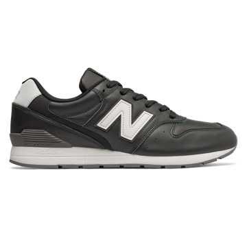 New Balance 996系列男女同款复古休闲鞋, 黑色