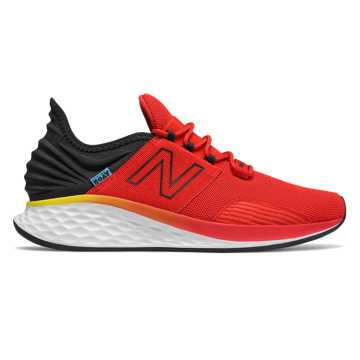 New Balance Fresh Foam Roav Boundaries, Velocity Red with Black