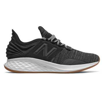 New Balance Fresh Foam Roav Knit, Black with Summer Fog
