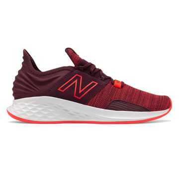 New Balance Fresh Foam Roav Knit, Henna with Energy Red