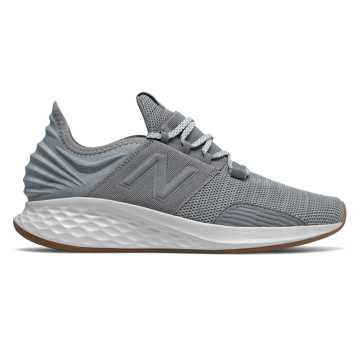 New Balance Fresh Foam Roav Knit, Gunmetal with Summer Fog