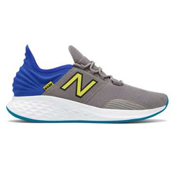 New Balance Fresh Foam Roav, Marblehead with UV Blue & Hi Lite