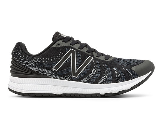 half off f0d6f 79f8e New Balance FuelCore Rush v3, Black with Thunder   White