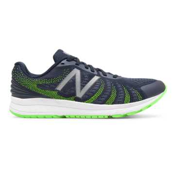 New Balance FuelCore Rush v3, Navy with Lime