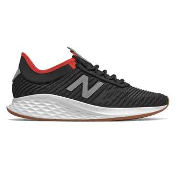 New Balance Fresh Foam Roav Fusion, Black with Steel