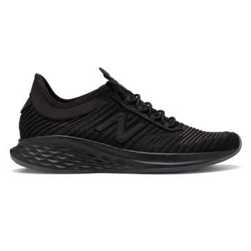New Balance Fresh Foam Roav Fusion男款跑步运动鞋, 黑色