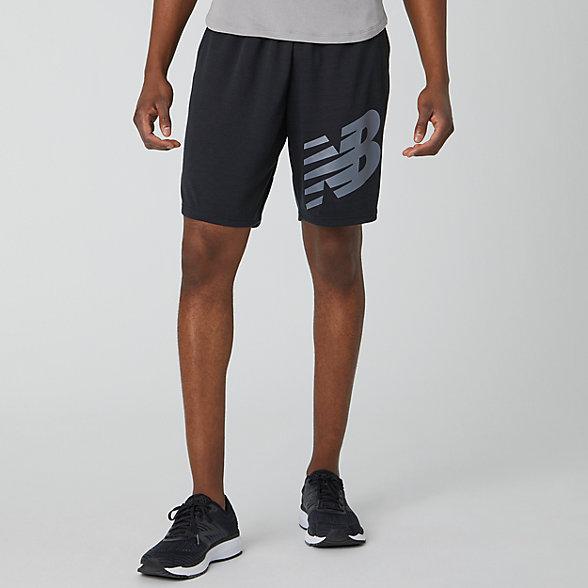 New Balance Tenacity Lightweight Sweat Short, MS01005BK