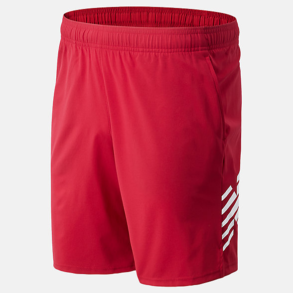 New Balance Printed Tenacity Woven Short, MS01016NCR