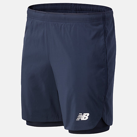 New Balance Fast Flight 7in 2-in-1 Short, MS01225ECL image number null