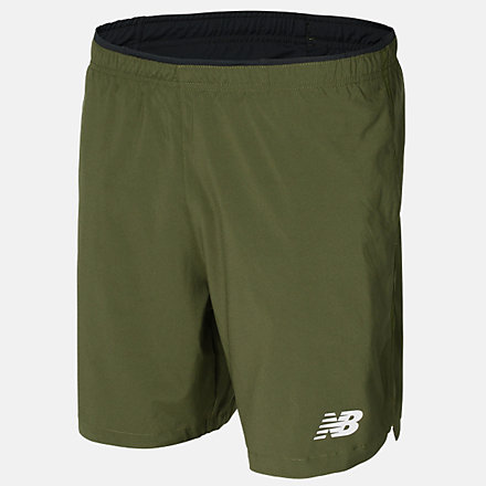 New Balance Fast Flight 7in 2-in-1 Short, MS01225OLG image number null