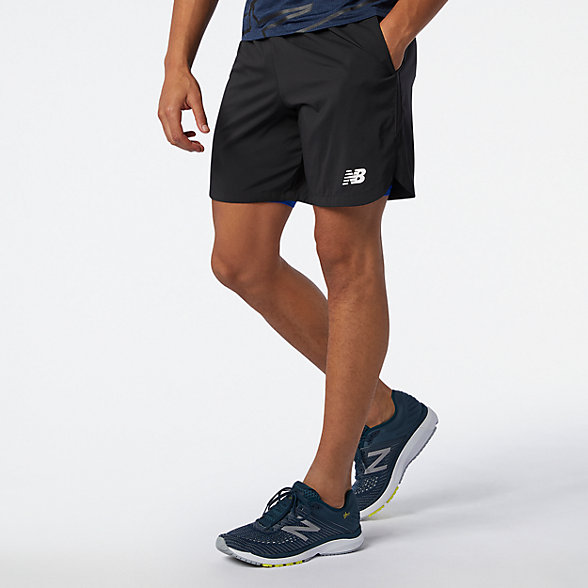 New Balance Printed Fast Flight 7 Inch 2 In 1 Short, MS01226BCO