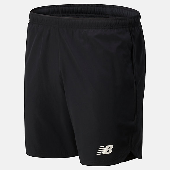 NB Printed Velocity 7 inch 2 in 1 Shorts, MS01226BK