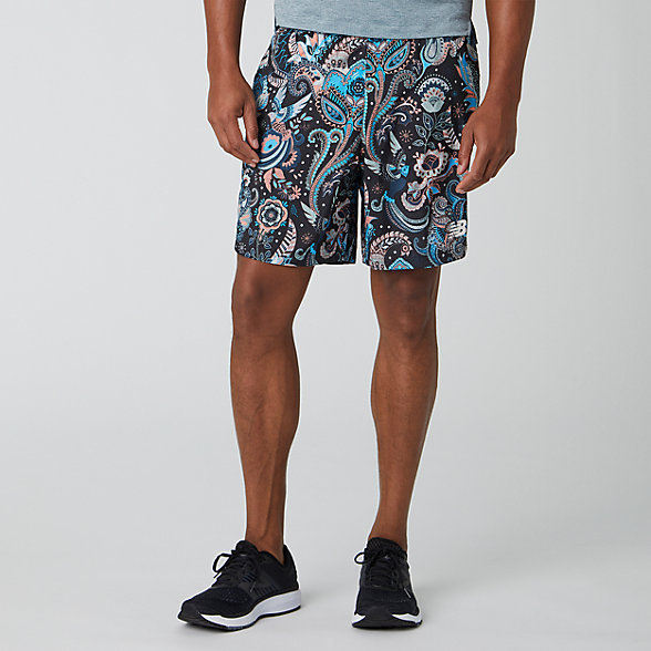 New Balance Printed Fast Flight 7 Inch 2 In 1 Short, MS01226BM