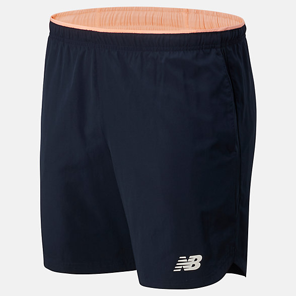 New Balance Printed Fast Flight 7 Inch 2 In 1 Short, MS01226GPK