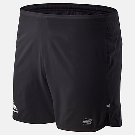 New Balance RFL Impact Run 5 Inch Short, MS01241BBK image number null