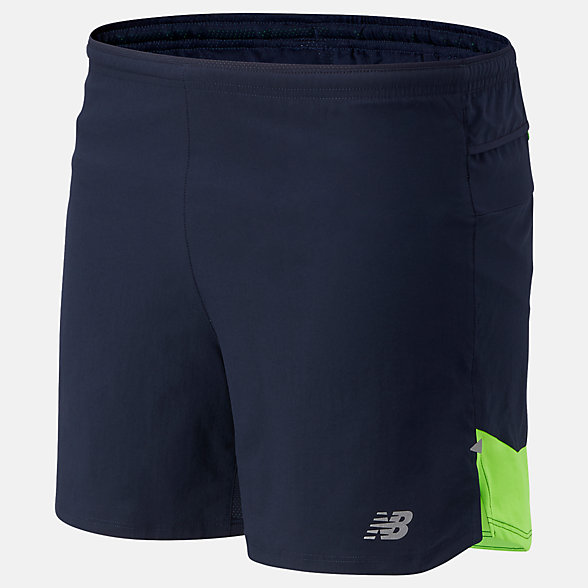 NB Impact Run 5 Inch Shorts, MS01241EGL
