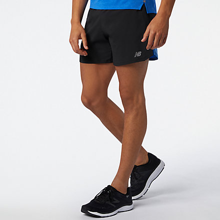 New Balance Impact Run 5 Inch Short, MS01241FCB image number null