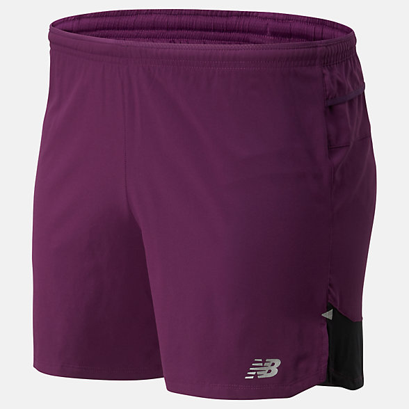 NB Pantaloncini Impact Run 5 Inch, MS01241MMA