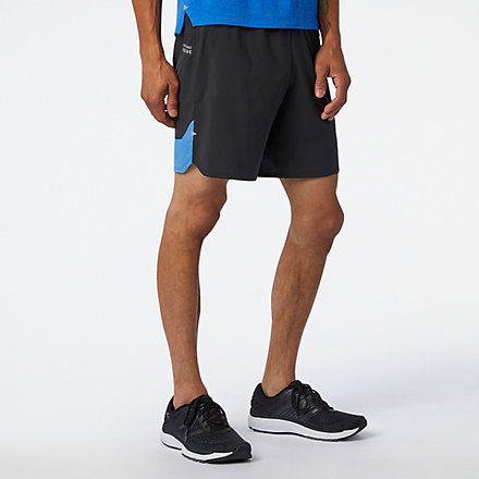 New Balance Impact Run 7 Inch Short, MS01243FCB image number null