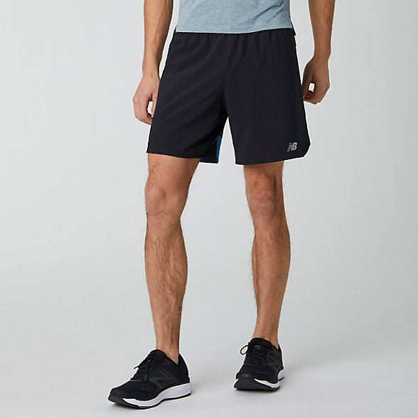 New Balance Impact Run 7 Inch Short, MS01243MAK